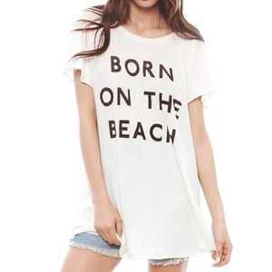 WILDFOX Born On The Beach T-Shirt